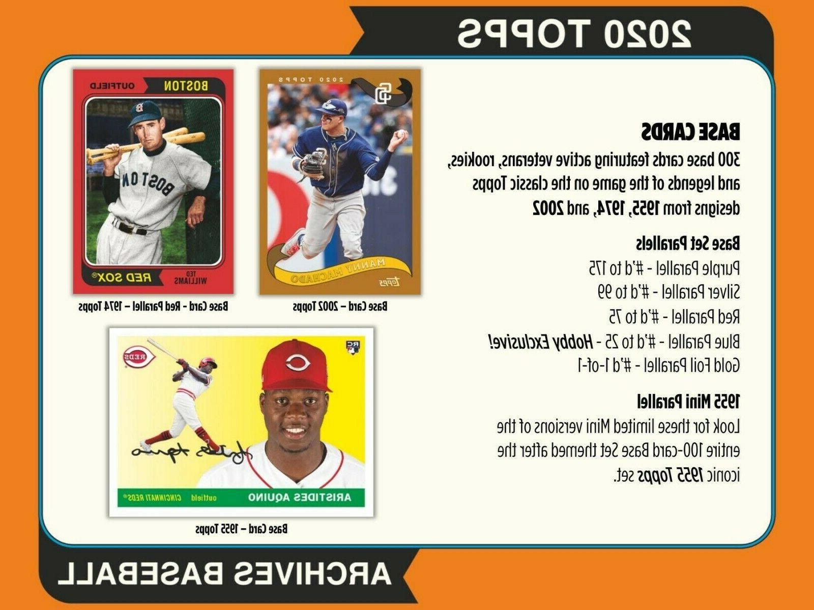 LOS 2020 Archives Hobby Case #1