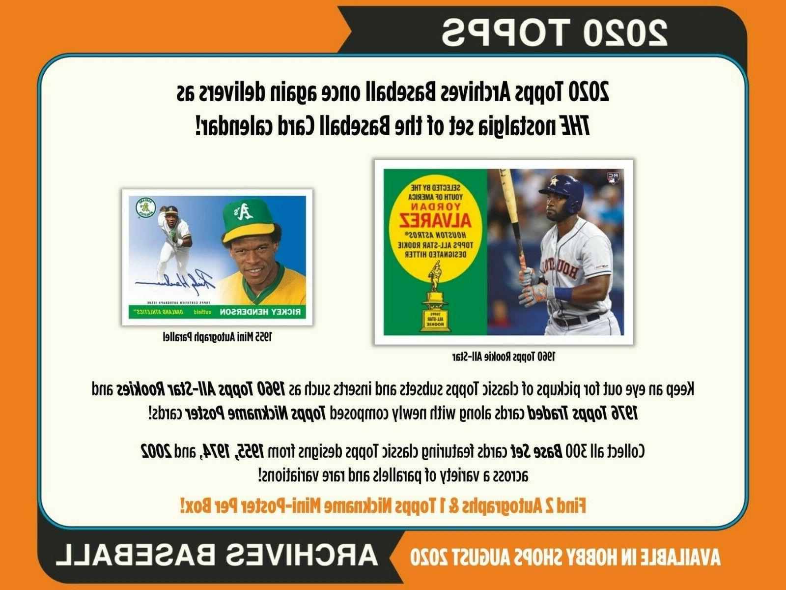 los angeles dodgers 2020 topps archives full