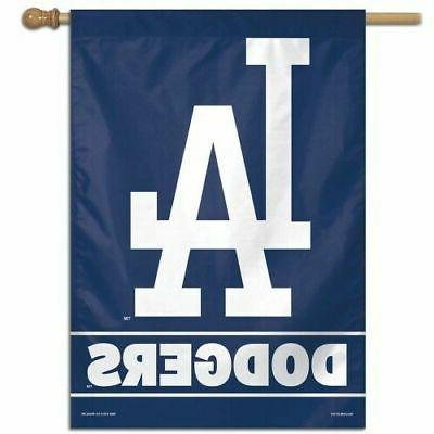 los angeles dodgers 28 x40 house flag