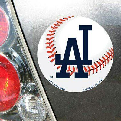 """Los Angeles Dodgers 5"""" Die-Cut"""