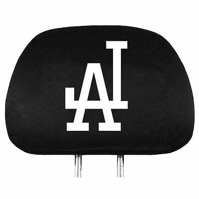 los angeles dodgers auto head rest covers