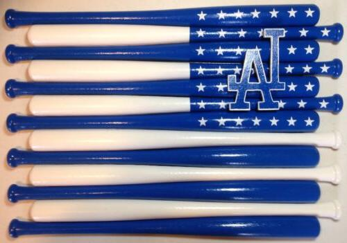 los angeles dodgers baseball bat flag