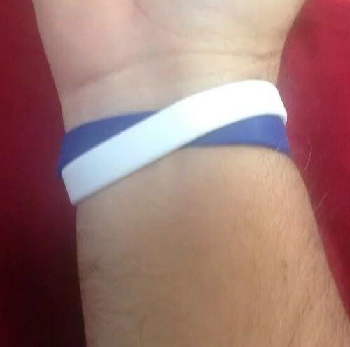 Los Angeles DODGERS Forever Blue Band Bracelet Pack New