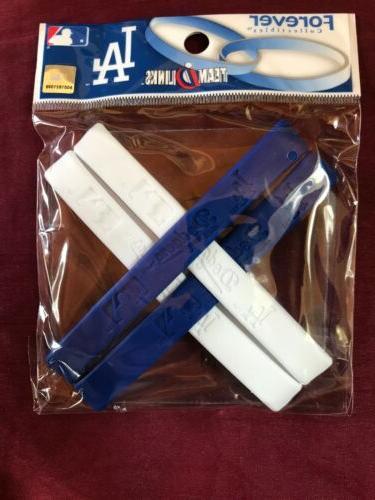 baseball forever blue linked baller band bracelet