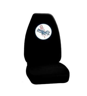 los angeles dodgers car seat cover black