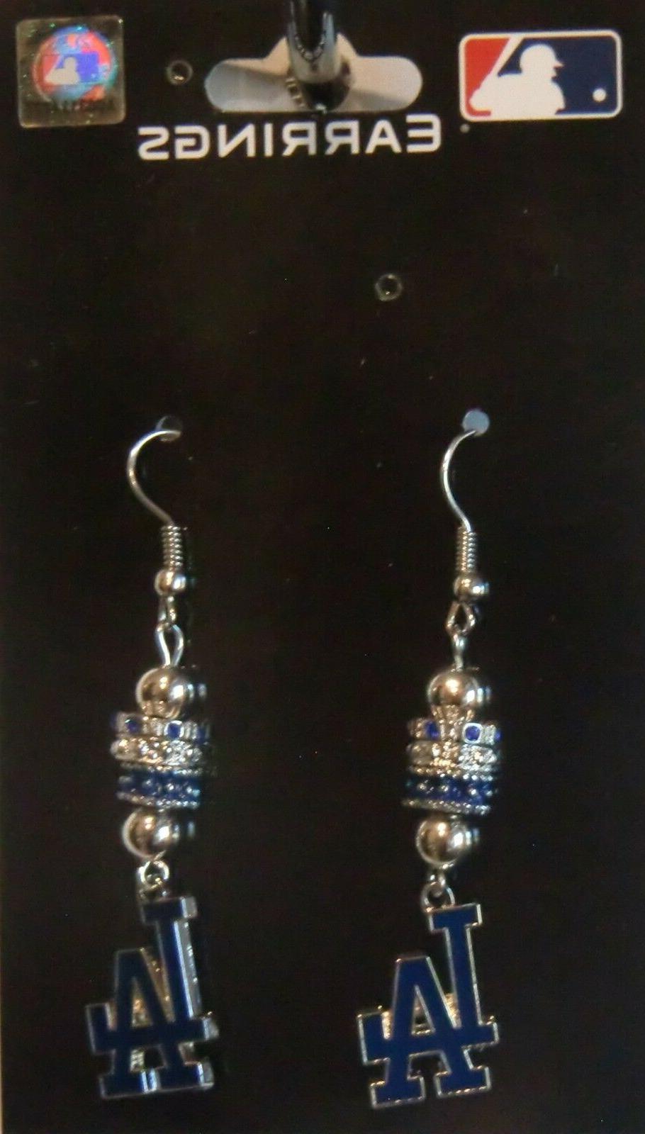 Los Earrings Licensed MLB Jewelry