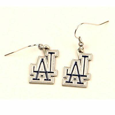 los angeles dodgers dangle earrings officially licensed