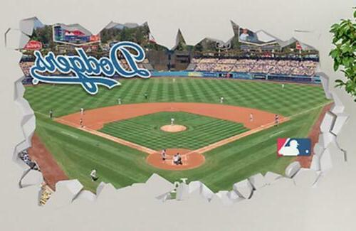 los angeles dodgers dodger stadium smashed 3d