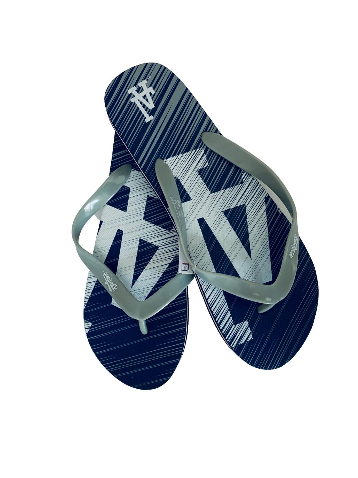 Los Angeles Dodgers Flops Sandals Unisex Mens Womens MLB