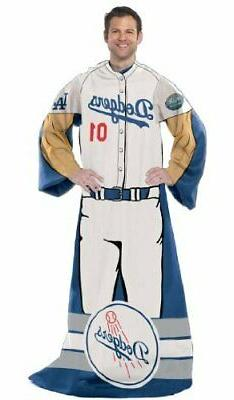 Los Angeles Dodgers Full Body Player Adult Comfy Wrap Throw