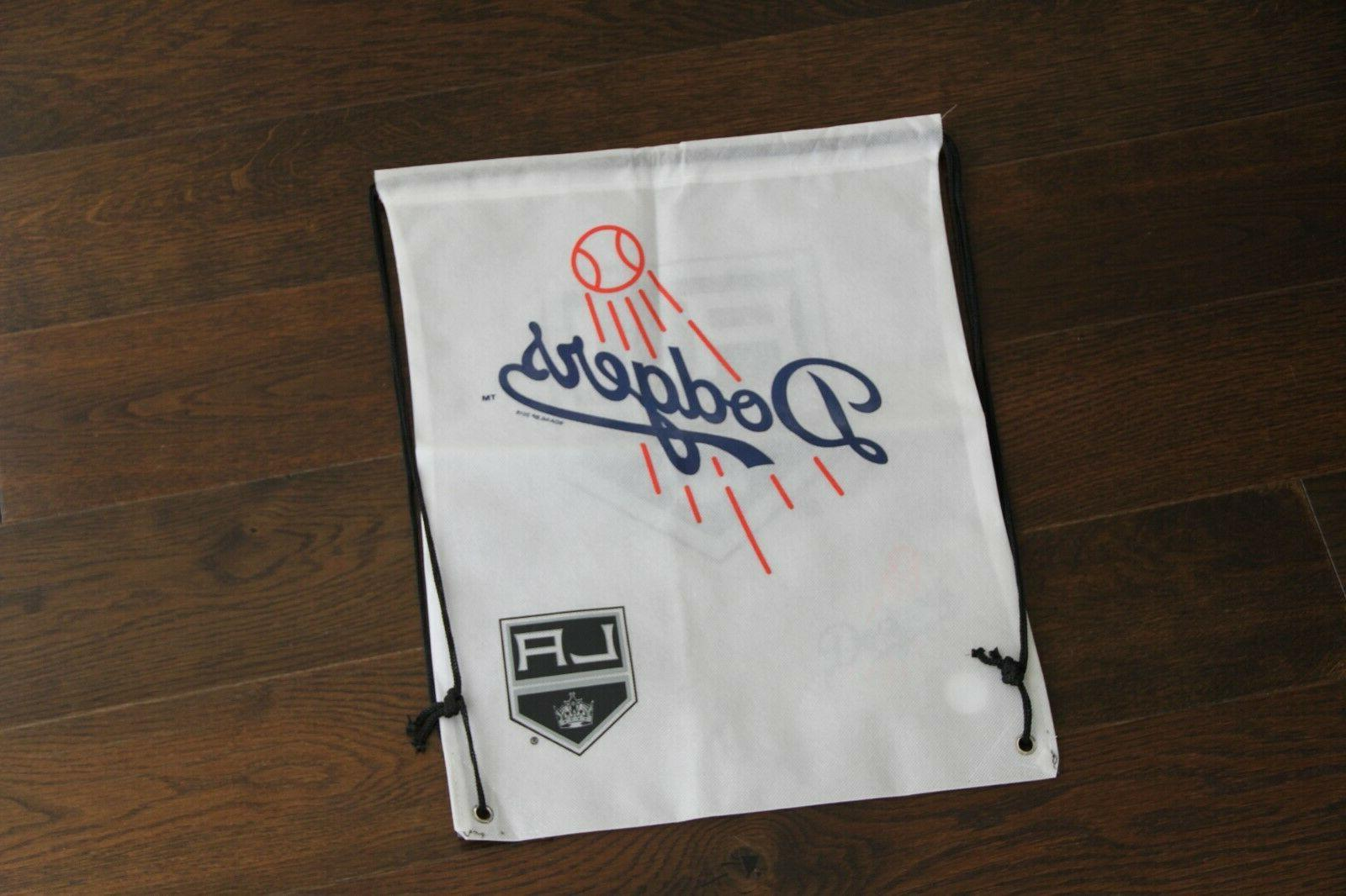 los angeles dodgers kings drawstring backpack brand