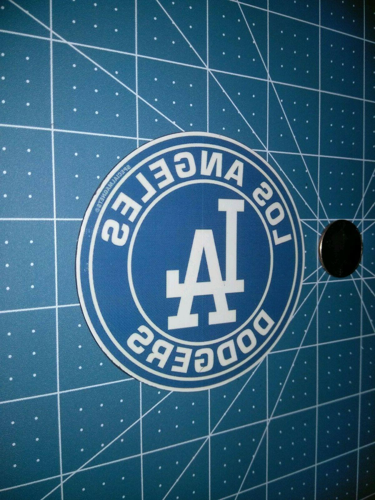 Los circle logo bumper magnets