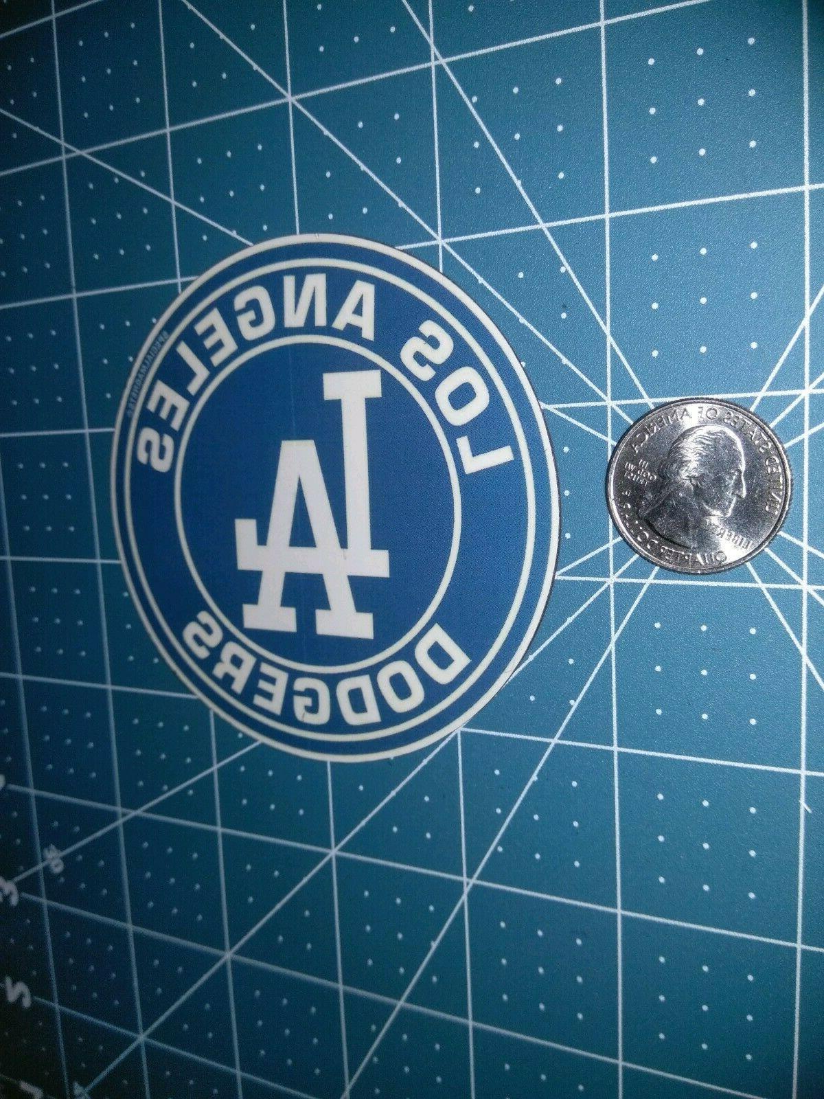 Los Dodgers circle sport car bumper fridge magnets