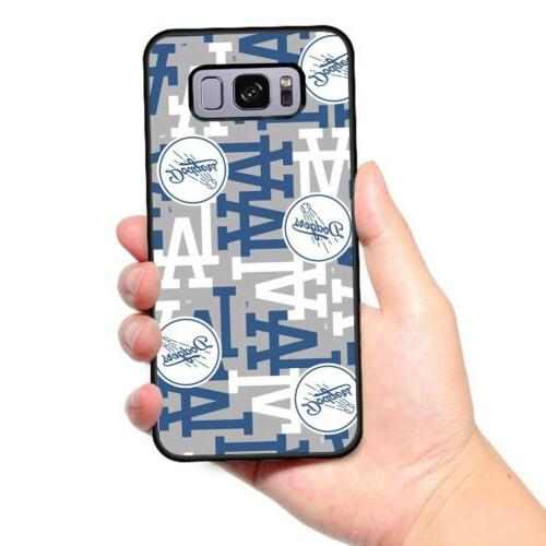 Los Dodgers Baseball Cover Case for iPhone Samsung