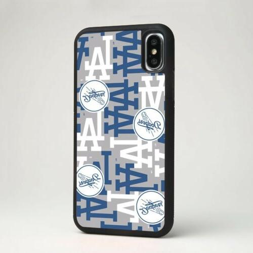los angeles dodgers mlb baseball silicone phone