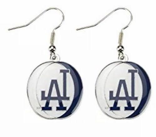 Los Angeles Tri Color Dangle Earrings