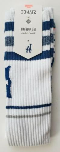 Stance Los Angeles Dodgers Pipebomb Womens Tall Boot Tube So