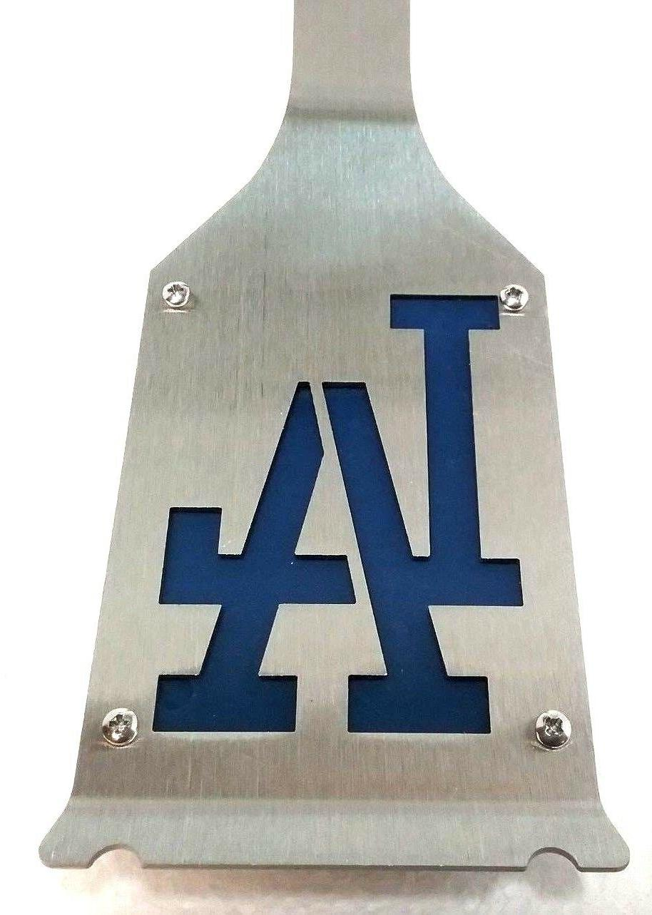 los angeles dodgers premium tailgate stainless grill