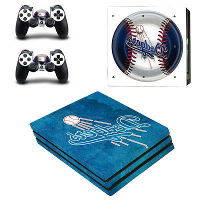 Los Angeles Dodgers PS4 Pro Skin Sticker Decal Vinyl Console