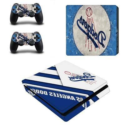 Los Angeles Dodgers PS4 Slim Skin Sticker Decal Vinyl Consol