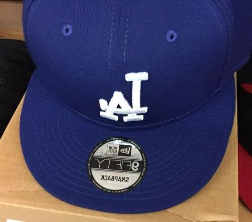 los angeles dodgers royal blue 9fifty snapback
