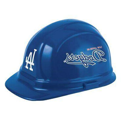 los angeles dodgers team construction hard hat