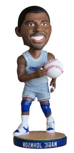 Magic Johnson Dodgers Basketball Uniform SGA '14 Los Angeles