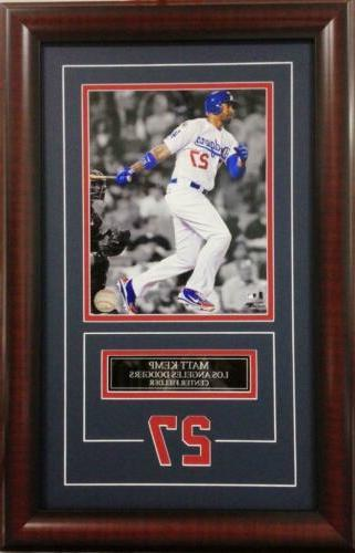 matt kemp los angeles dodgers deluxe framed