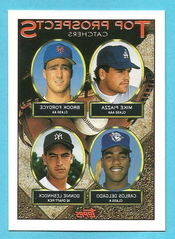 mike piazza singles inserts and parallels