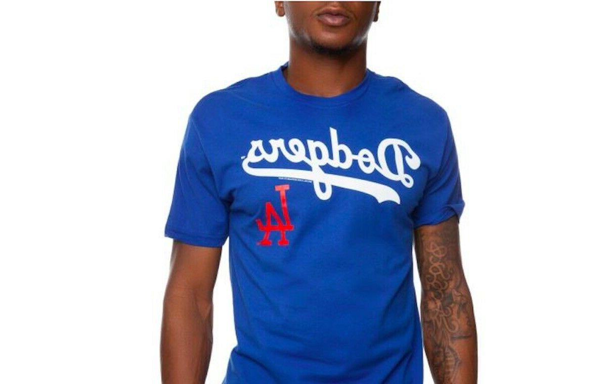 Mitchell & Ness Los Angeles Dodgers T-Shirt LA Logo Tee MLB