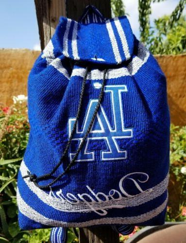 mlb los angeles dodgers mexican backpack handmade