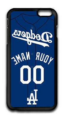 MLB Los Angeles Dodgers Personalized Name/Number iPhone iPod