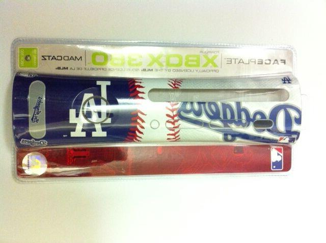 NEW Official LA Los Angeles Dodgers   MLB Faceplate  for Mic