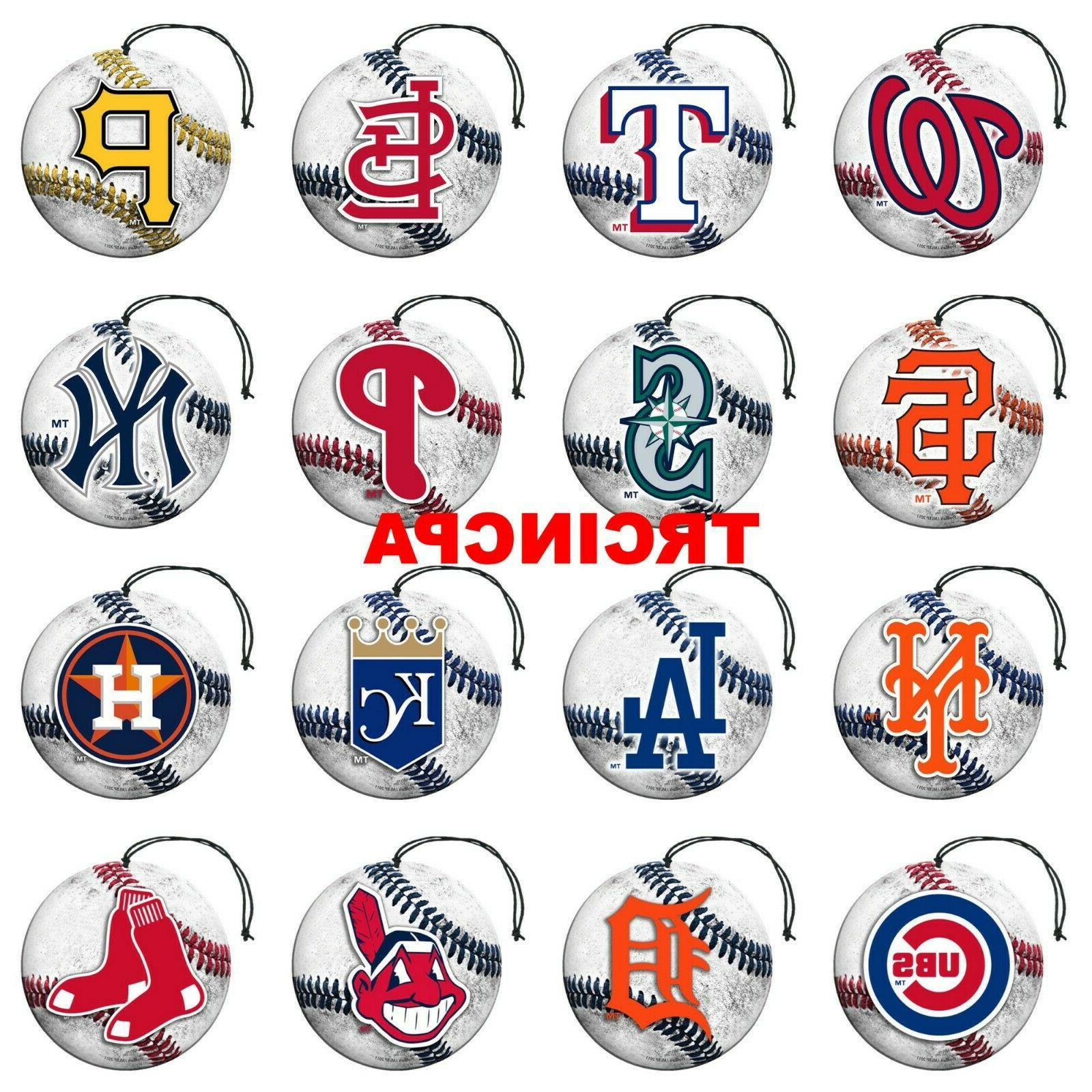 team promark mlb air freshener 3 pack