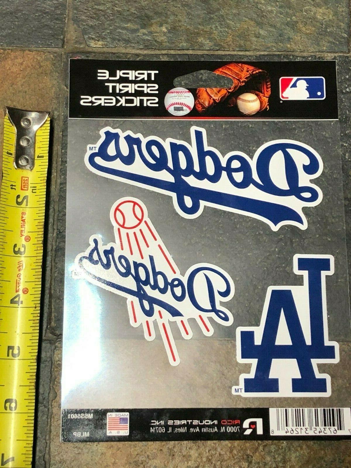 Triple Pack Dodgers Excellent