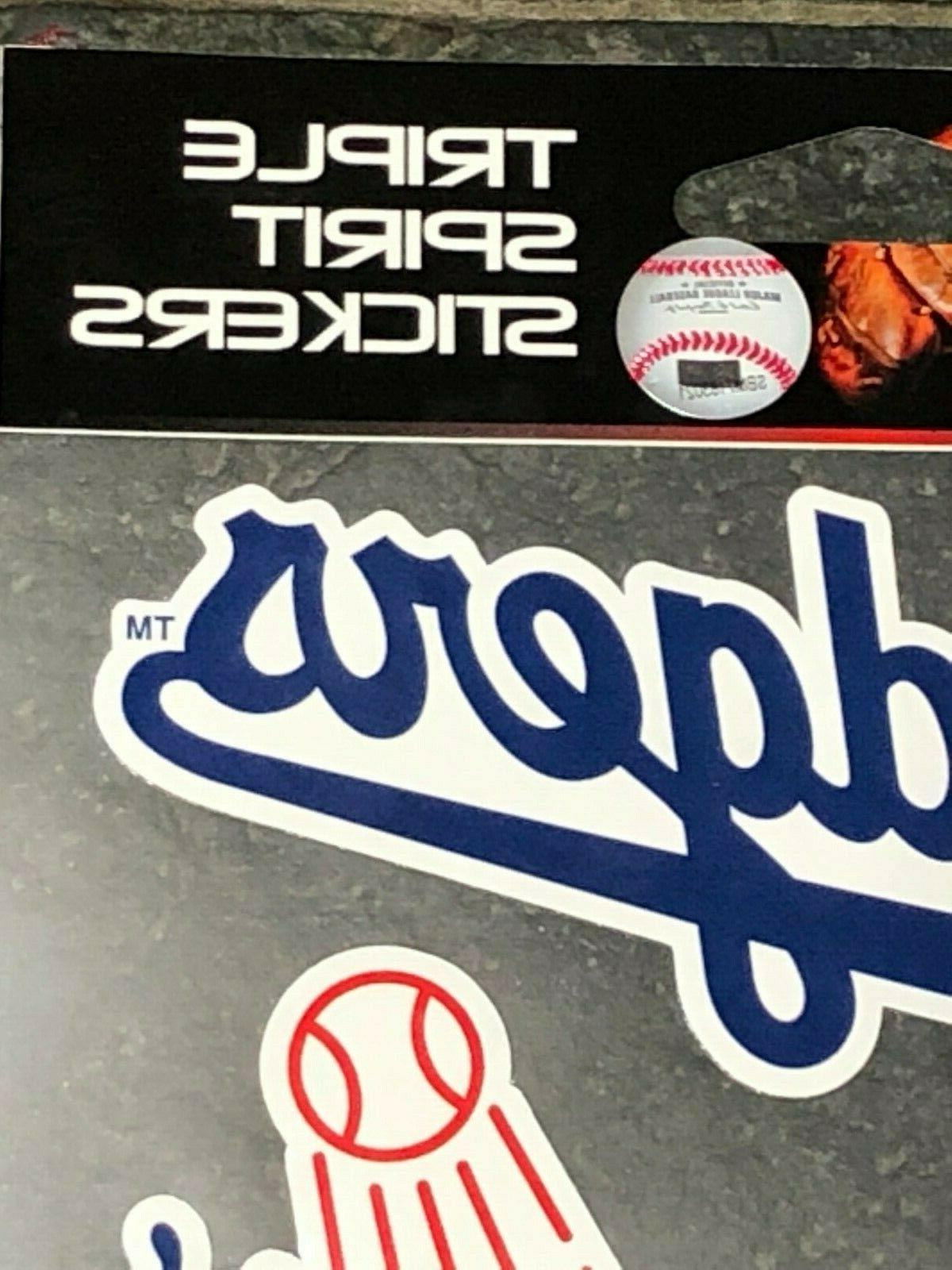 Triple -Three Pack Angeles Dodgers Quality