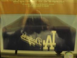LA Dodgers blue grill cover size 68 X 21 X 35 fits most larg