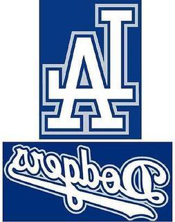 LA Dodgers Los Angeles Iron On T Shirt Pillowcase Fabric Tra