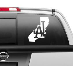 LA Los Angeles Dodgers California Window Sticker Vinyl Decal