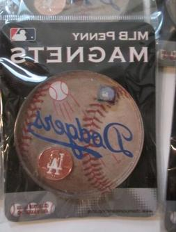 LA Los Angeles Dodgers Lucky Penny Magnet Brand New in Packa