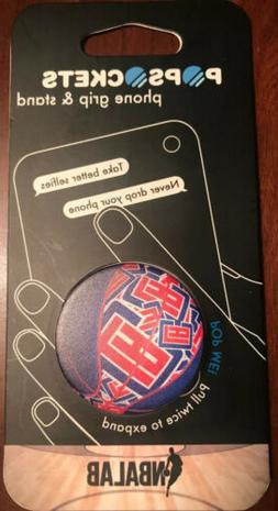 Los Angeles Clippers LA PopSocket Phone Grip & Stand NBA Bas