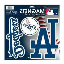 "Los Angeles Dodgers WinCraft 11"" X 11"" 3-pack Car Magnets"
