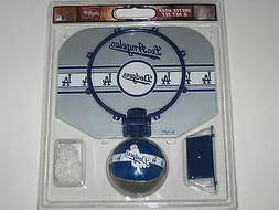 "Los Angeles Dodgers 12"" X 9"" Basketball Softee Hoop Set With"