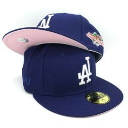 Los Angeles Dodgers 1988 World Series New Era Blue Fitted Ha