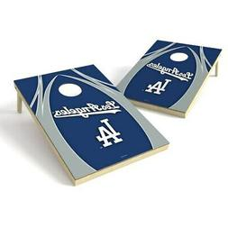 Los Angeles Dodgers 2' x 3' Logo Shield Tailgate Toss Game