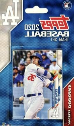 Los Angeles Dodgers 2020 Topps Factory Sealed Team Set- Dust