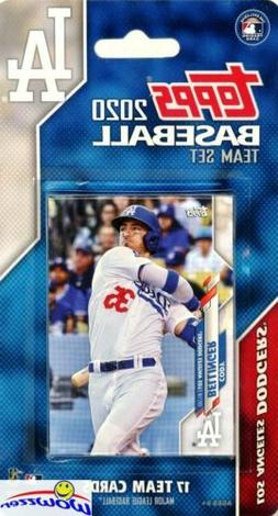 Los Angeles Dodgers 2020 Topps Limited Edition 17 Card Team