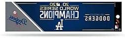 Los Angeles Dodgers 2020 World Champions Bumper Sticker Deca