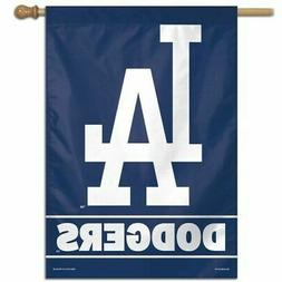 "LOS ANGELES DODGERS 28""X40"" HOUSE FLAG OR WALL BANNER MLB LI"