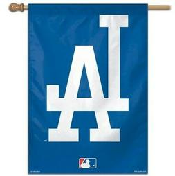 "LOS ANGELES DODGERS 28X40"" HOUSE FLAG OR WALL BANNER OUTDOOR"